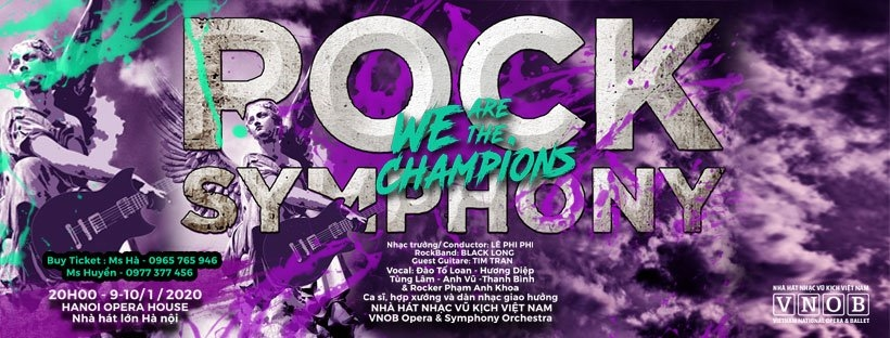 "Rock Symphony ""We are the Champions"""