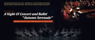 "A Night of Concert and Ballet ""Autumn Serenade"""